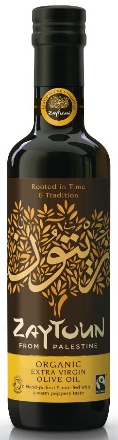Zaytoun Fairtrade Extra Virgin Olive Oil - 750ml