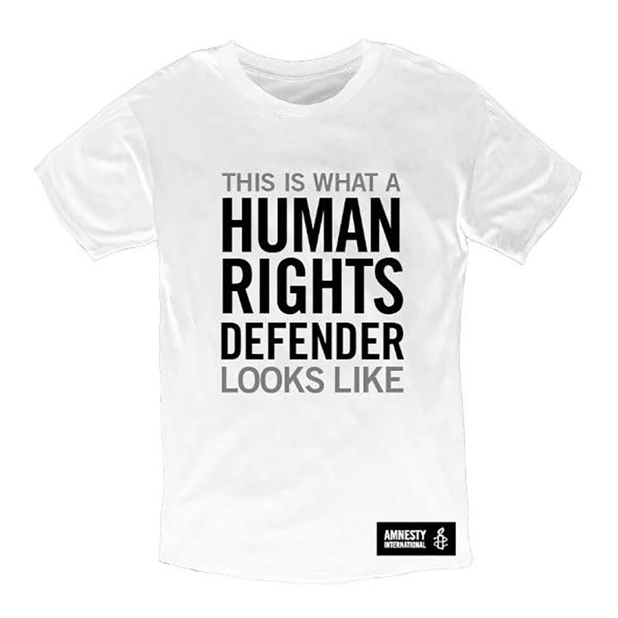Amnesty Human Rights Defender T-Shirt