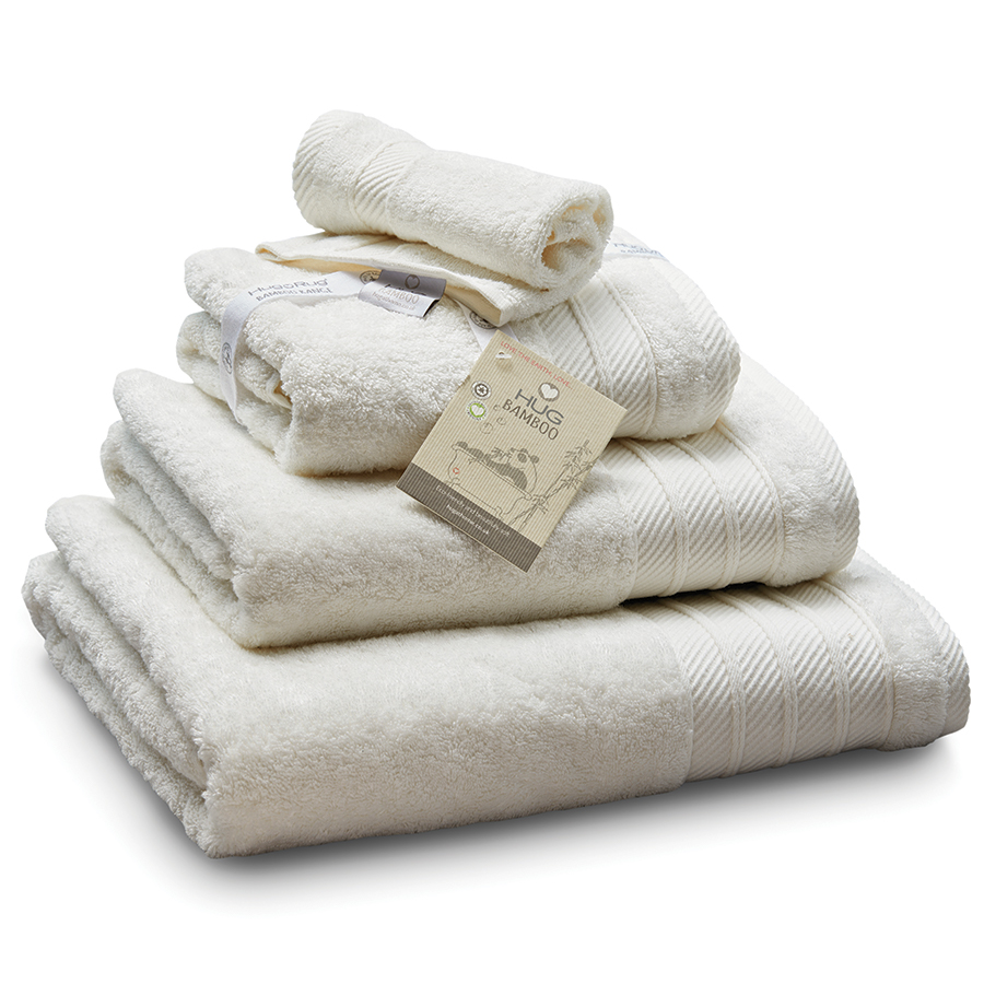 Bamboo Bath Towel - Cream