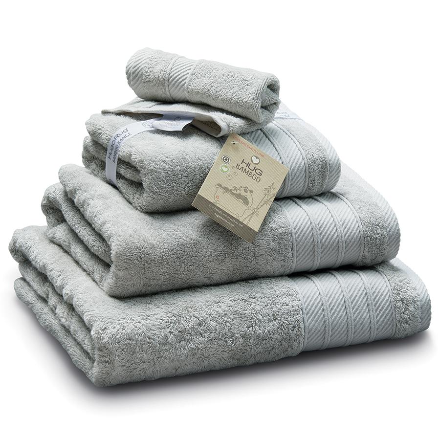 Bamboo Bath Sheet - Light Grey