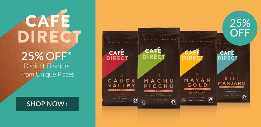 25% off selected Cafedirect