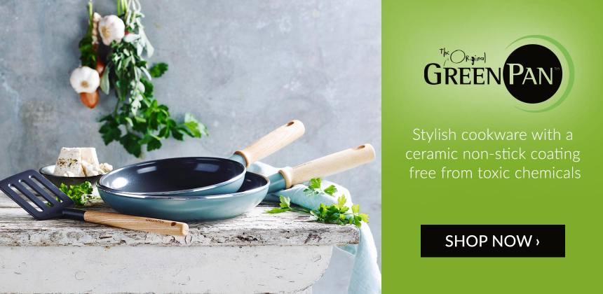 Stylish non-toxic cookware from GreenPan
