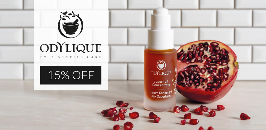 15% off Odylique