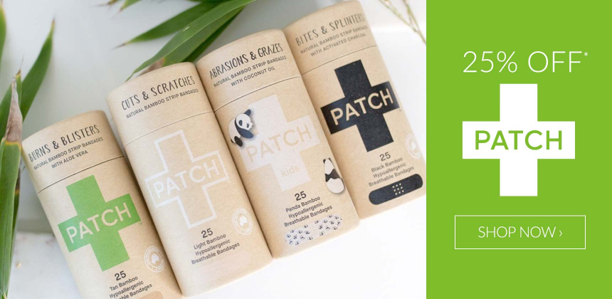 25% Off Patch Bamboo Plasters