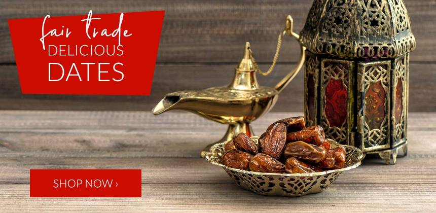 Delicious fair trade and organic dates
