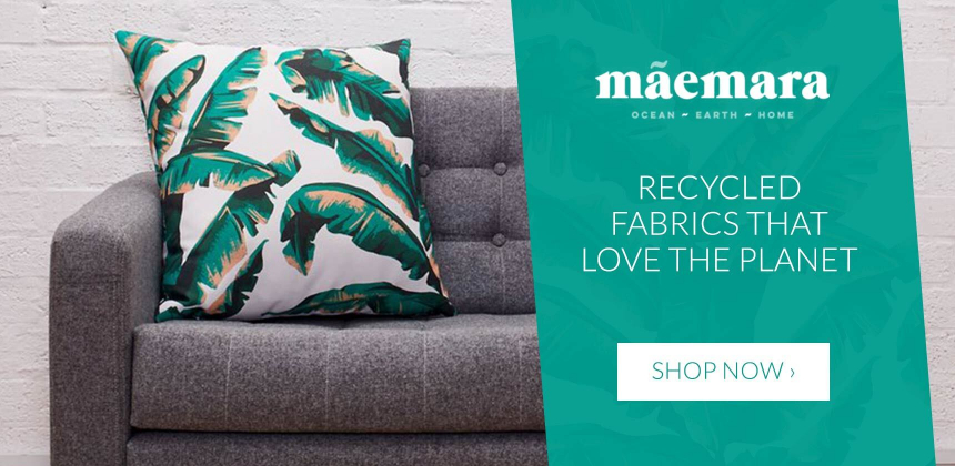 Maemara recycled soft furnishings