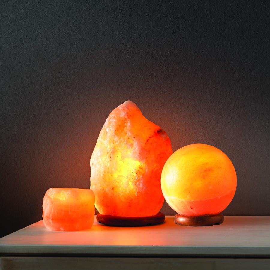 Natural Salt Lamp - Large - Rough Cut - The Salt Seller