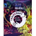 Traidcraft Fairtrade Muesli Vine Fruit 500g - bulk