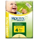 Moltex Nature Disposable Nappies - Maxi - Size 4 - Jumbo Pack of 74