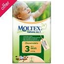 Moltex Nature Disposable Nappies - Midi - Size 3 - 40 per pack