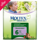 Moltex Nature Disposable Nappies - XL - Size 6 - Pack of 27