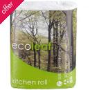 Ecoleaf Ultra Kitchen Towels - Pack of 2