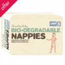 Beaming Baby Biodegradable Nappies - Junior - Size 5 - Pack of 31