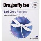 Dragonfly Rooibos Earl Grey Tea - Naturally Caffeine Free - 40 Bags