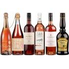 Box of 6 Valentine�s Champagne, Premium Wine & Liqueur Pack