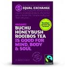 Equal Exchange Fairtrade & Organic Buchu Honeybush Rooibos Tea - 25 Bags