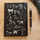 A5 Dogs Hardcover Journal