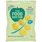 The Food Doctor Hot Wasabi Corn & Soy Crisp Thins - 23g