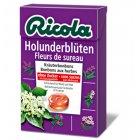 Ricola Swiss Herbal Drops Box - Sugar Free - Elderflower - 45g