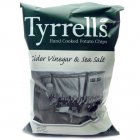 Tyrrells Cider Vinegar & Sea Salt Potato Crisps - 40g