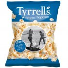 Tyrrells Lightly Sea Salted Popcorn - 70g