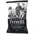 Tyrrells Sea Salt & Cracked Black Pepper Potato Crisps - 40g