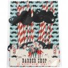 Pack of 12 Barber Shop Moustache Paper Straws