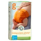 gNappies Biodegradable Disposable Inserts - Pack of 40 - Newborn-Small