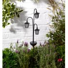 Smart Solar Trio Lantern Stake Light