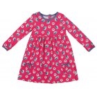 Maddie Dress Raspberry Birdies
