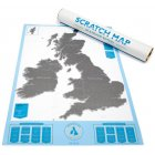 Scratch Map - UK and Ireland