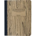 Decomposition Ruled Notebook -  Wood Grain