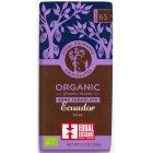 Equal Exchange Organic Ecuador Dark Chocolate - 100g