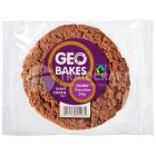 Geobakes Giant Double Chocolate Cookies - 75g