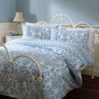 Double Duvet Set - Blue