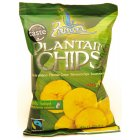 Lightly Salted Fairtrade Plantain Chips - 45g