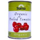 Suma Peeled Whole Organic Tomatoes - 400g