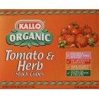 Kallo Tomato & Herb Stock Cubes - 66g