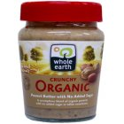 Whole Earth Organic Peanut Butter - Crunchy - 227g