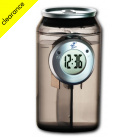 H2O Water Powered Can Clock - Black