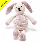 Fair Trade & Organic Pink Bunny