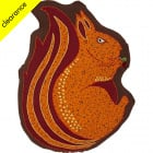 Woodland Squirrel Cushion