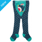 Tiggy Tights Dark Teal Birdie Spot