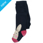 Twinkle Toe Tights - Navy Bunny
