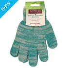 Eco Tools Recycled Bath & Shower Gloves - One Size
