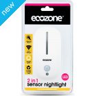 Ecozone 2 in 1 Sensor LED Night Light