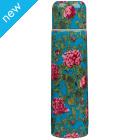 V&A Rose Print Vacuum Flask 500ml - Pink/Blue