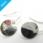 La Jewellery Recycled Manuka Silver Earrings