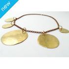 La Jewellery Recycled Osho Brass Neck Art