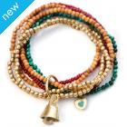Believer Kids One Love Multi-coloured Bells Bracelet